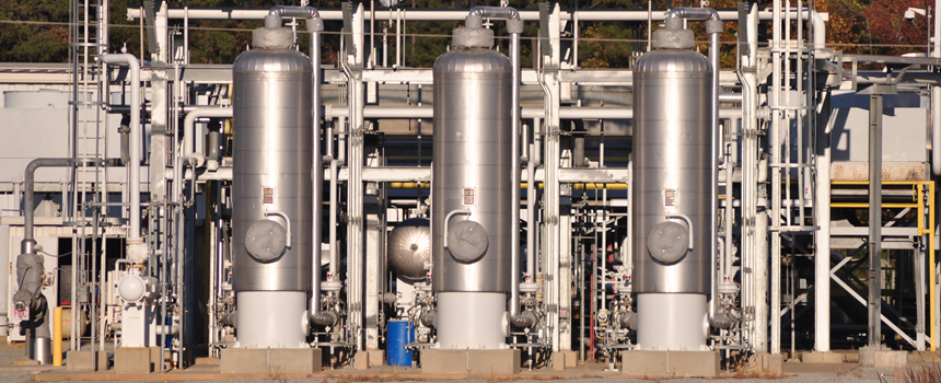Natural Gas Dehydration with bulk desiccants sold by Interra Global