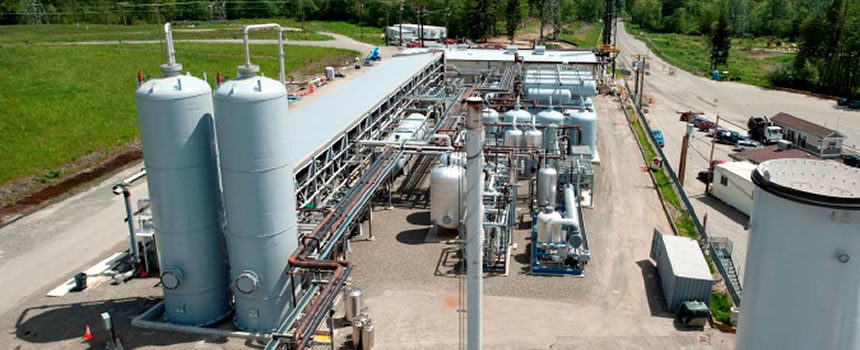 H2S Removal Landfill Gas Application - Interra Global. Industrial Desiccants and Adsorbents